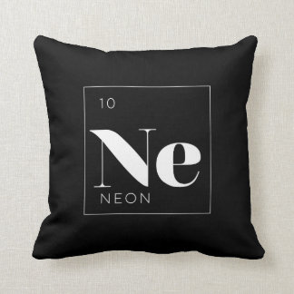 Neon periodic table science gifts on zazzle periodic table elements pillow neon urtaz Choice Image