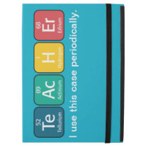 "Periodic Table Elements Spelling Teacher iPad Pro 12.9"" Case"