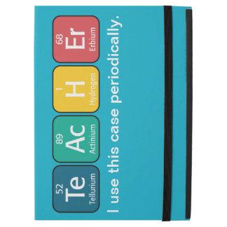 "Periodic Table Elements Spelling Teacher iPad Pro 12.9"" Case"