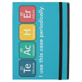 Periodic Table Elements Spelling Teacher iPad Pro Case