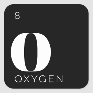 Oxygen periodic table science stickers zazzle periodic table elements sticker oxygen urtaz Image collections