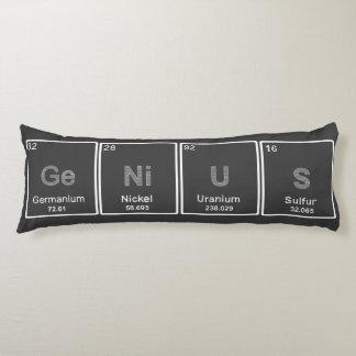 Periodic Table GeNiUS body pillow
