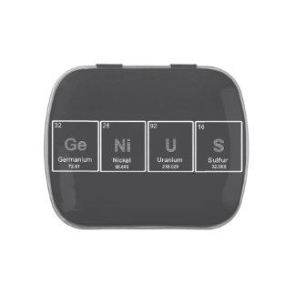 Periodic Table GeNiUS candy tin