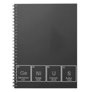 Periodic Table GeNiUS notebook