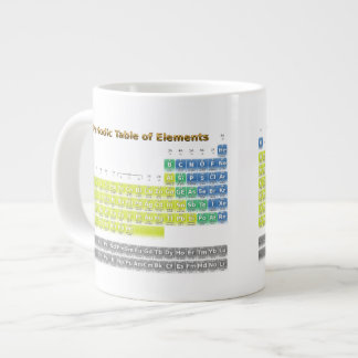 Periodic Table Giant Coffee Mug