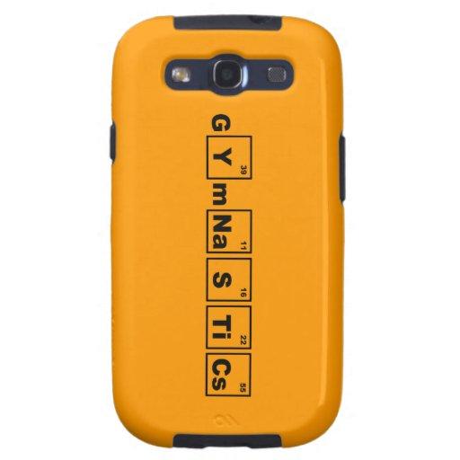 Periodic Table Gymnastics Samsung Galaxy SIII Cases
