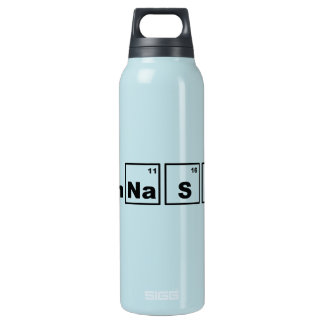 Periodic Table Gymnastics Thermos Water Bottle