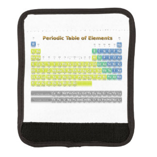 Periodic Table Handle Wrap