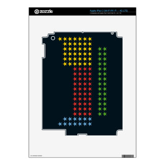 Periodic table in stars skins for iPad 3