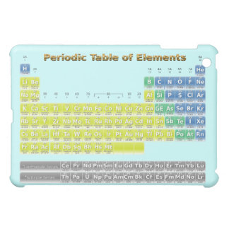 Periodic Table iPad Mini Cover