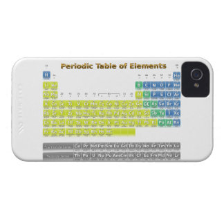 Periodic Table iPhone 4 Case