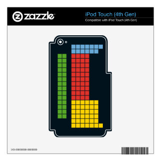 Periodic table iPod touch 4G decal