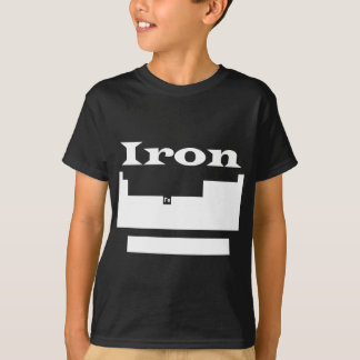 Periodic table: iron T-Shirt