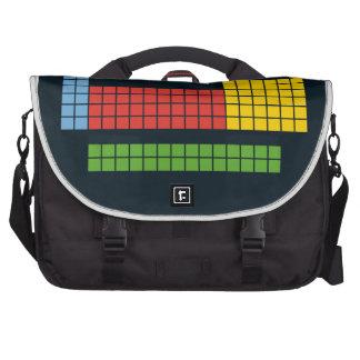 Periodic table laptop computer bag