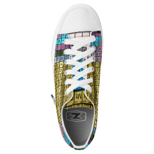 Chemistry canvas shoes printed shoes zazzle periodic table low top sneakers urtaz Gallery