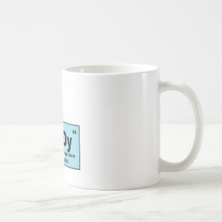 Periodic Table Nerdy Products Classic White Coffee Mug