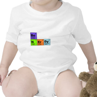 Periodic Table Nerdy Products Shirt