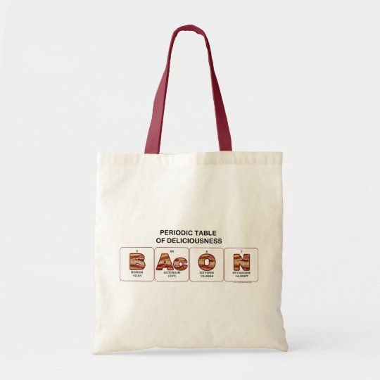 Periodic Table of Deliciousness Tote Bag