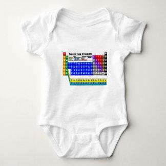 Periodic Table of Elements Baby Bodysuit