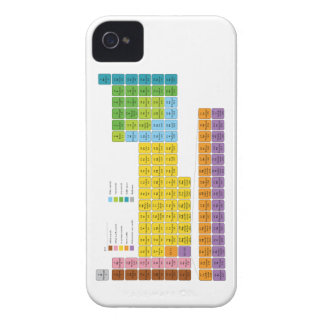 Periodic Table of Elements iPhone 4 Cover