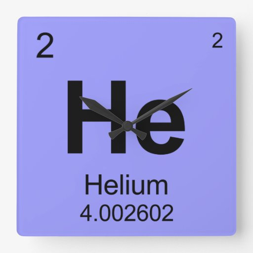 Helium Periodic Table Square Periodic table of elements (helium ...