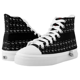 Periodic Table of Elements High-Top Sneakers