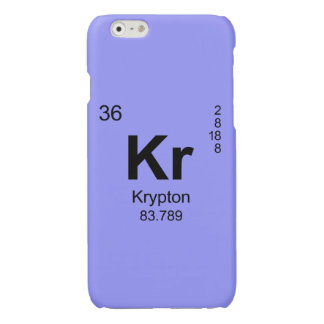 Periodic Table of Elements (Krypton) Glossy iPhone 6 Case