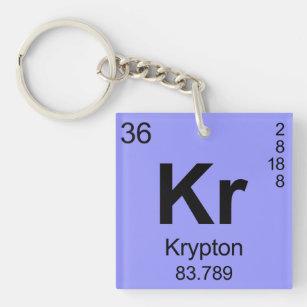 Periodic table keychains zazzle periodic table of elements krypton keychain urtaz Images