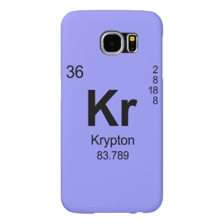 Periodic Table of Elements (Krypton) Samsung Galaxy S6 Case