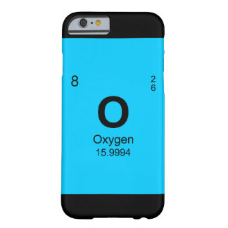 Periodic Table of Elements (Oxygen) Barely There iPhone 6 Case