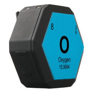 Periodic Table of Elements (Oxygen) Black Bluetooth Speaker
