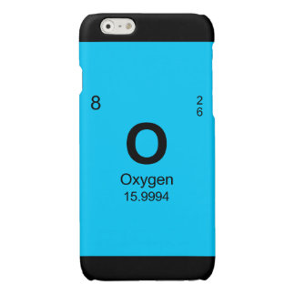 Periodic Table of Elements (Oxygen) Glossy iPhone 6 Case