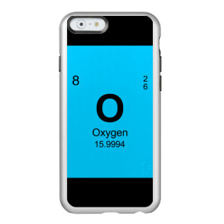 Periodic Table of Elements (Oxygen) Incipio Feather Shine iPhone 6 Case