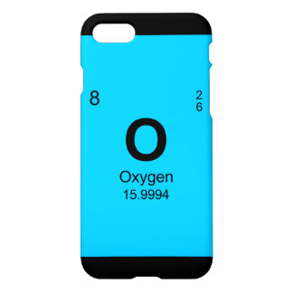 Periodic Table of Elements (Oxygen) iPhone 8/7 Case