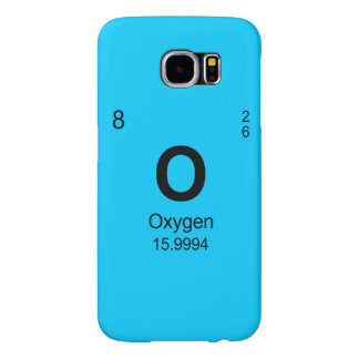 Periodic Table of Elements (Oxygen) Samsung Galaxy S6 Case