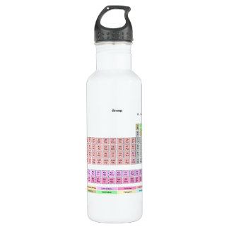 Periodic Table of Elements 24oz Water Bottle