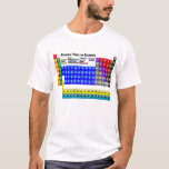"""Periodic Table of Elements T-Shirt<br><div class=""""desc"""">Yes,  there is a full color-coded Periodic Table of Elements on this shirt. Yes,  I think that&#39;s cool. If you do too,  you&#39;ve come to the right place!</div>"""