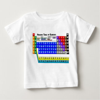 Periodic Table of Elements Tee Shirt