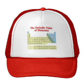 Periodic Table of Elements Trucker Hat