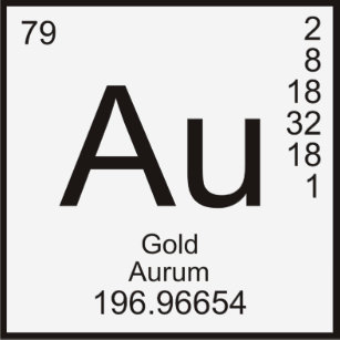 Gold au element gifts on zazzle periodic table of elements tshirt gold au urtaz Gallery