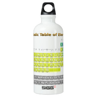 Periodic Table of Elements Water Bottle