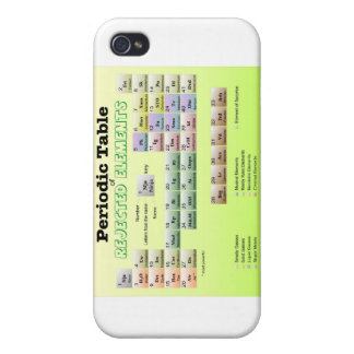 Periodic Table of rejected Elements iPhone 4/4S Case
