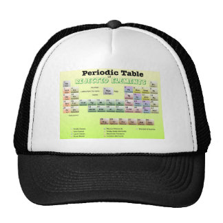 Periodic Table of rejected Elements Trucker Hat