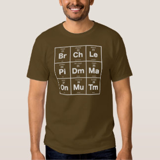 Periodic Table of Sandwich Ingredients T-shirt