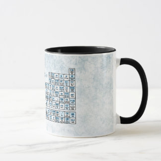 Periodic table of elements coffee travel mugs zazzle periodic table of texting blue mug urtaz Gallery