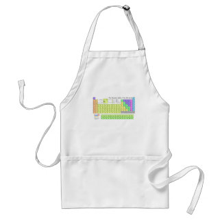 Periodic Table of the Elements Adult Apron