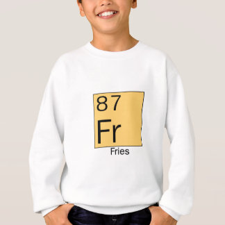 Periodic Table of the  Elements: French Fries Sweatshirt