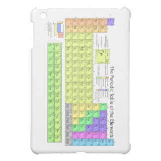 Periodic Table of the Elements iPad Mini Covers