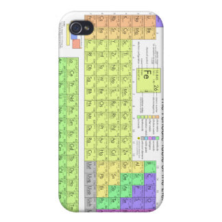 Periodic Table of the Elements iPhone 4 Cover