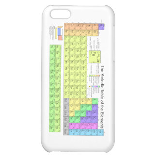 Periodic Table of the Elements iPhone 5C Covers